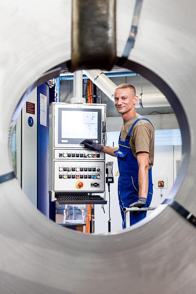 Scherdel Feinschneidtechnik – Produktion
